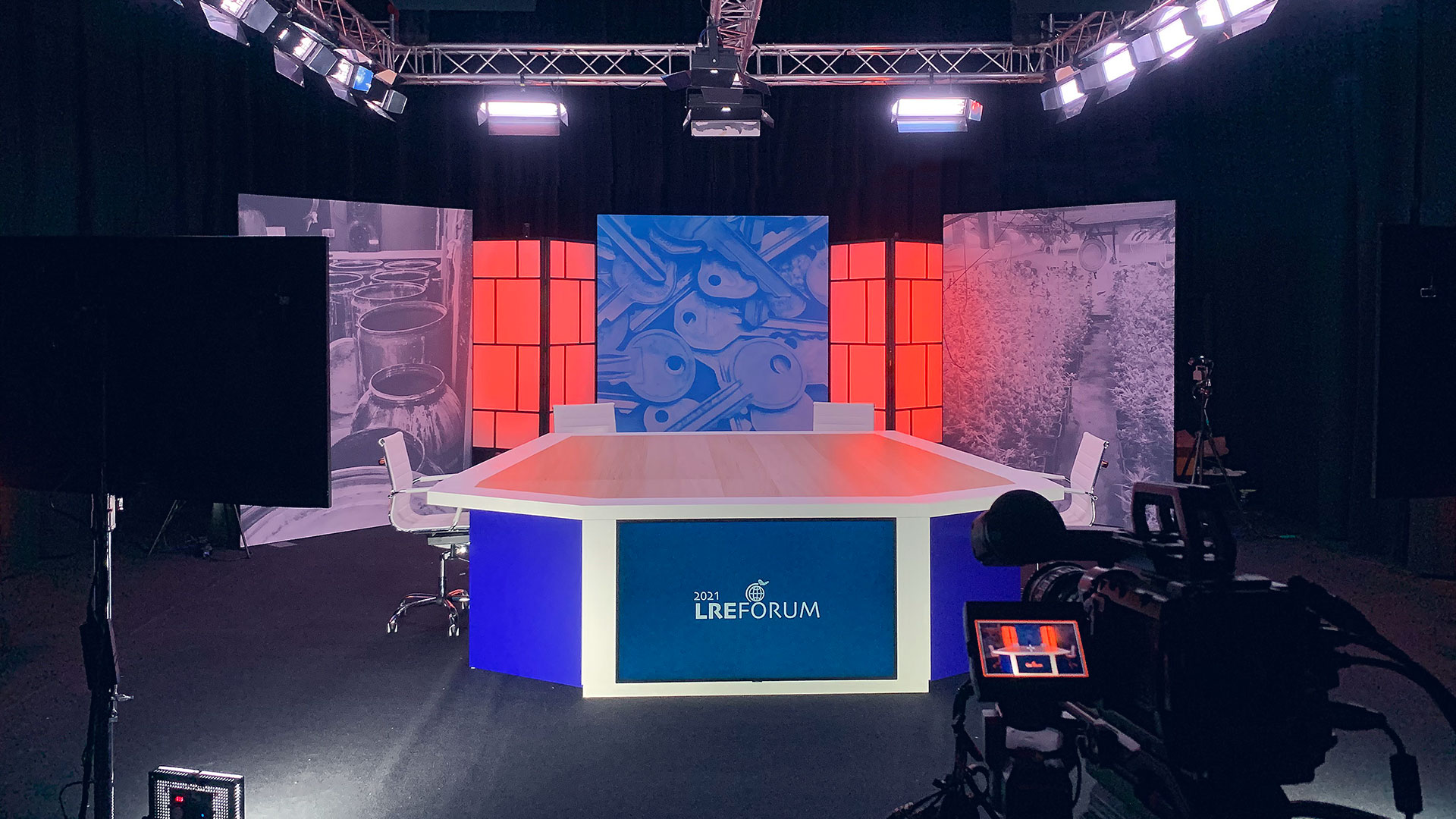talkshow-studio-set